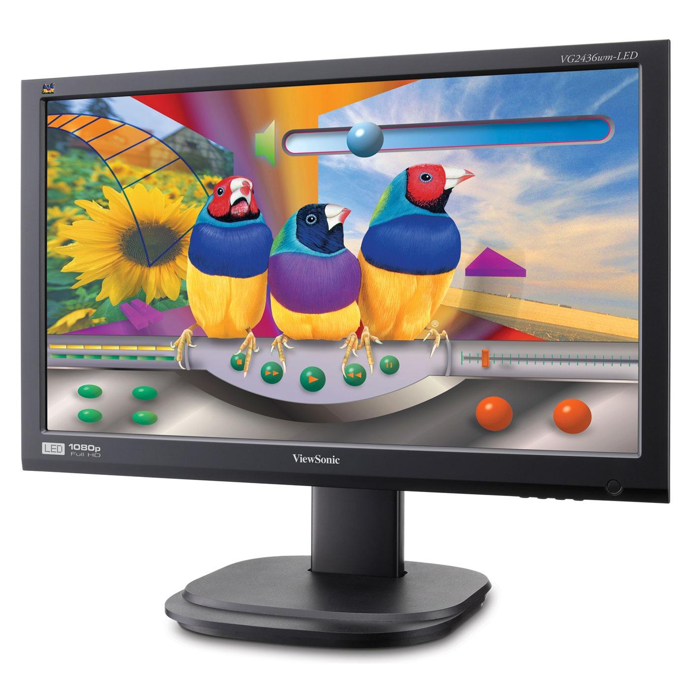 Viewsonic 24 lcd vg2436wm led vg2436wm led achat for Vente ecran pc