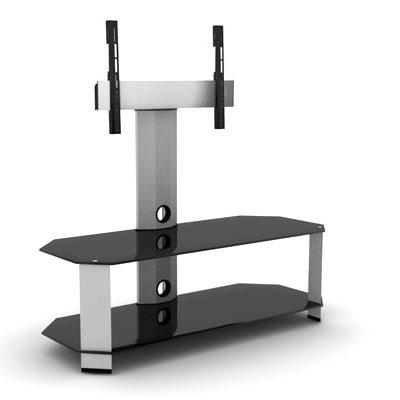 Elmob corner co 110 21 c0 110 21 achat vente meuble tv sur - Meuble support tv ecran plat ...