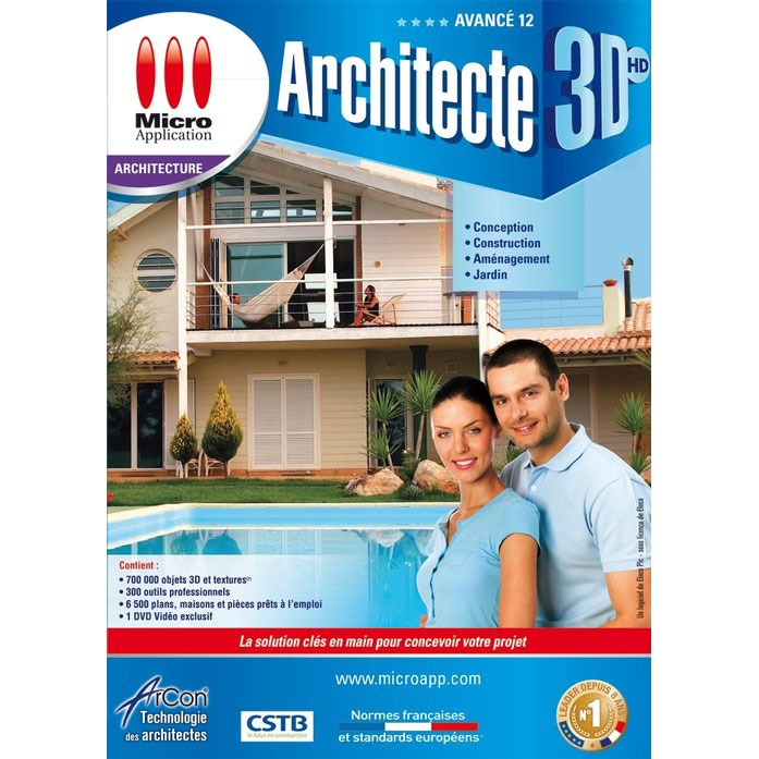 Micro Application Architecte 3dhd Avanc Cad 12