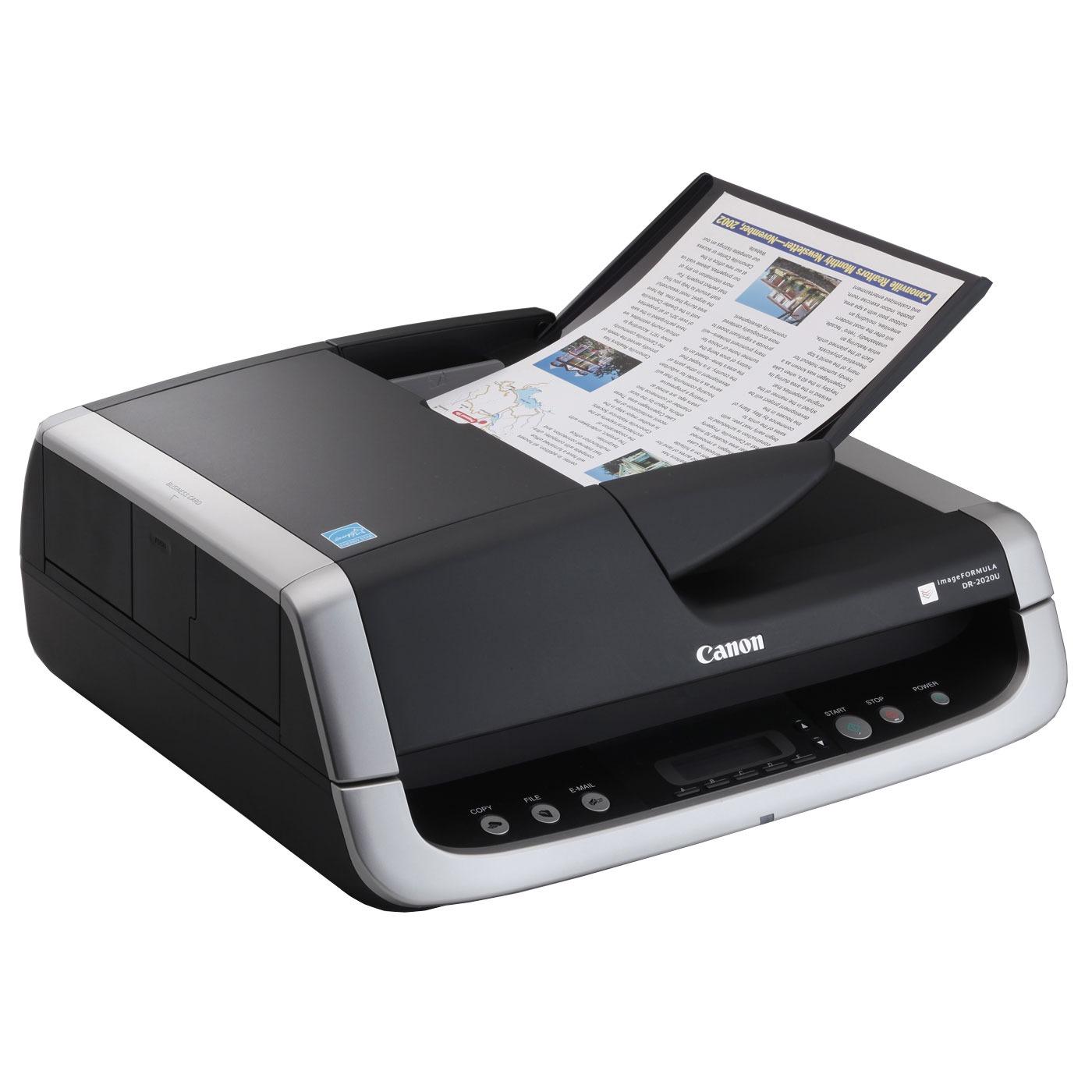 Scanner Canon DR-2020U Canon DR-2020U - Scanner professionnel A4 (USB 2.0)