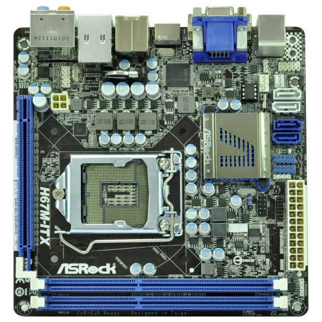Carte mère ASRock H67M-ITX Carte mère Mini ITX Socket 1155 Intel H67 Express Revision B3