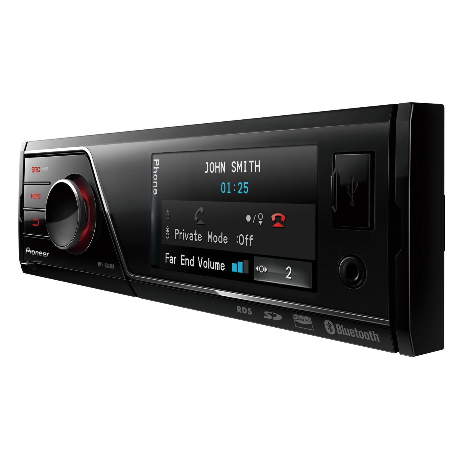 pioneer mvh 8300bt autoradio pioneer sur ldlc. Black Bedroom Furniture Sets. Home Design Ideas