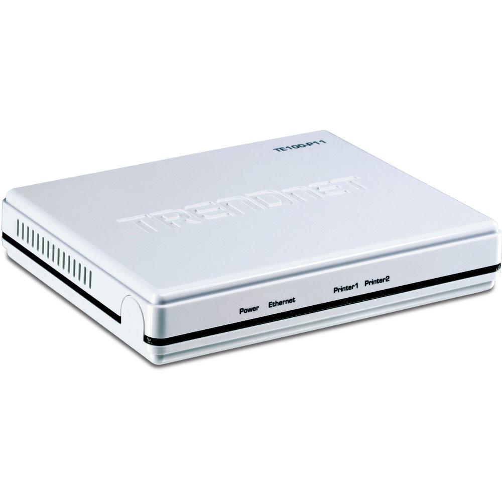 Serveur d'impression TRENDnet TE100-P11 Serveur d'impression à 2 ports parallèle/USB