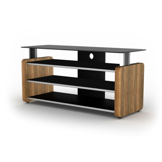 elmob aura au 105 02 teck meuble tv elmob sur ldlc. Black Bedroom Furniture Sets. Home Design Ideas