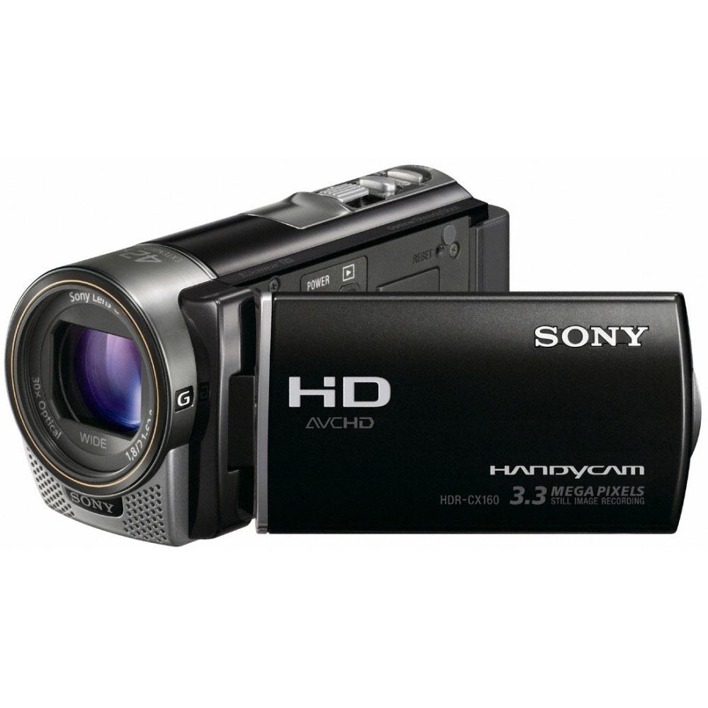 Caméscope numérique Sony HDR-CX160 Sony HDR-CX160 - Caméscope Full HD Mémoire flash 16 Go