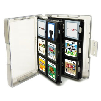 hori game card case 24 blanc accessoires ds et 3ds hori sur ldlc. Black Bedroom Furniture Sets. Home Design Ideas