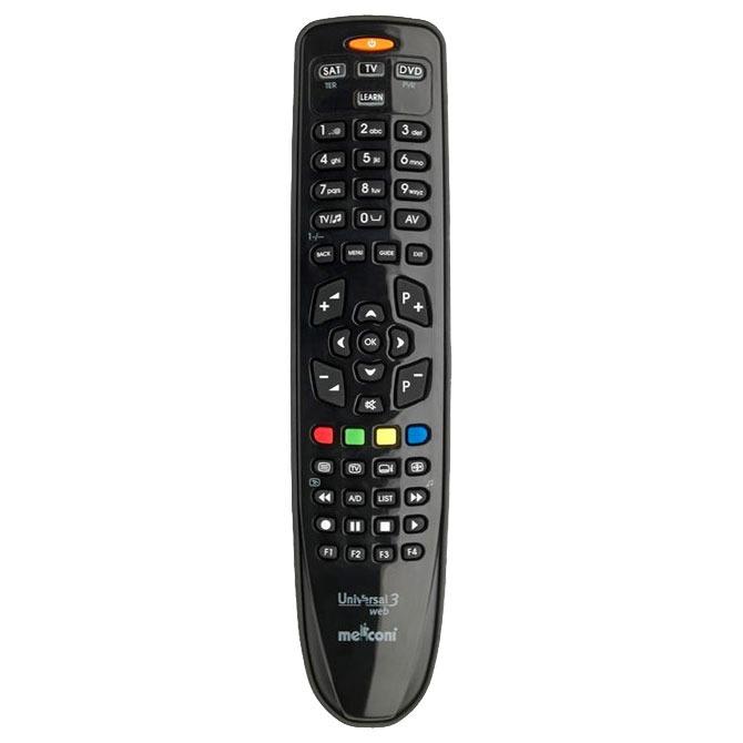Télécommande Meliconi Universal 3 Web Télécommande universelle 3 en 1