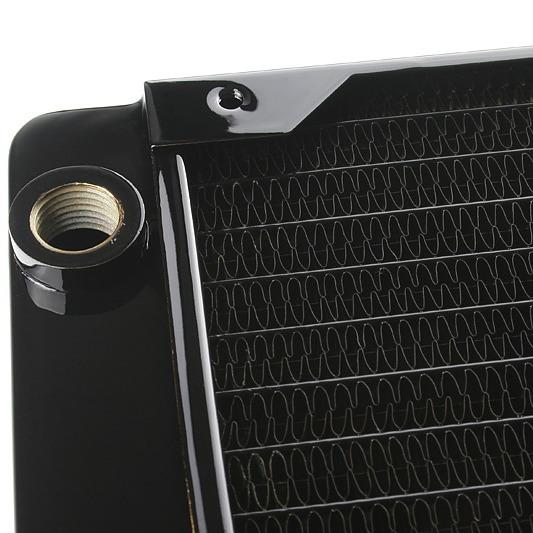 Watercooling Hardware Labs Black Ice GTX 360 Hardware Labs Black Ice GTX 360 - Radiateur triple pour 3 ventilateurs de 120 mm