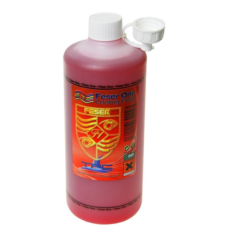 Liquide de refroidissement rouge