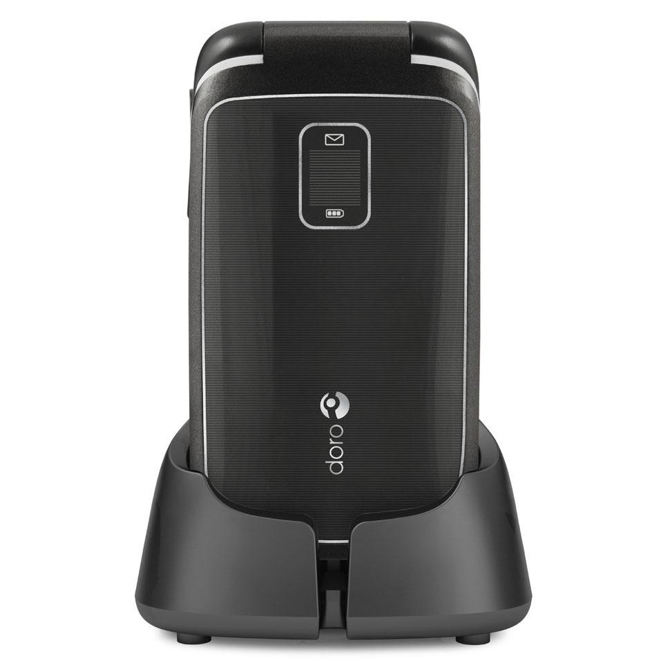Mobile & smartphone Doro PhoneEasy 610gsm Noir Téléphone mobile à grosses touches