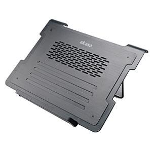 Ventilateur PC portable Akasa Alpen AK-NBCH-30BK Noir Ventilateur pour ordinateur portable (jusqu'à 15.6 pouces)