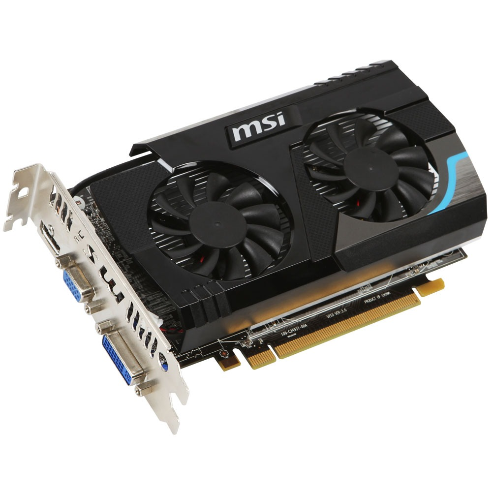 Carte graphique MSI R6670-MD1GD5 1 Go (AMD Radeon HD 6670) 1 Go HDMI/DVI - PCI Express (AMD Radeon HD 6670)
