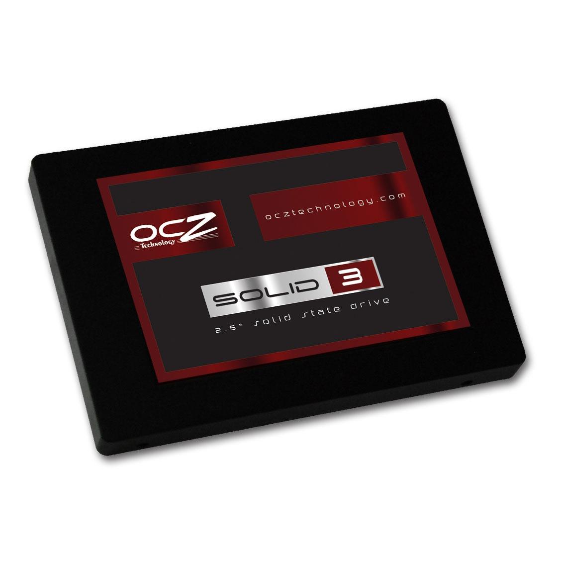 """Disque SSD OCZ Solid 3 Series 120 Go SATA 6Gb/s OCZ Solid 3 Series - SSD 120 Go 2.5"""" Serial ATA 6Gb/s"""