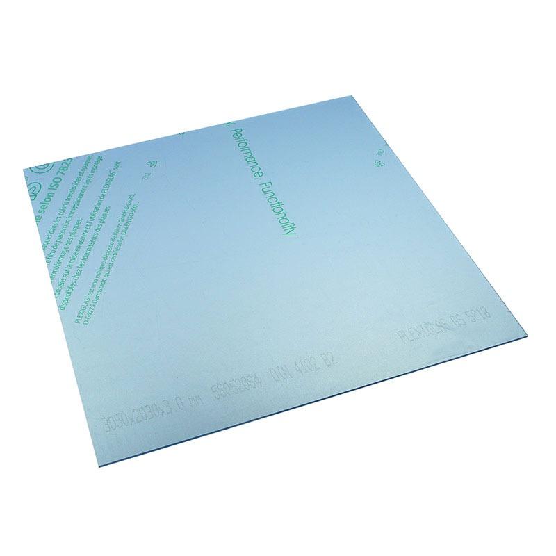 Panneau plexiglas transparent neutre 500 x 500 mm for Fenetre plexiglass