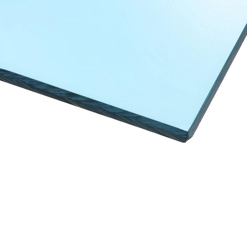 Panneau plexiglas transparent bleu ciel 400 x 400 mm for Fenetre plexiglass