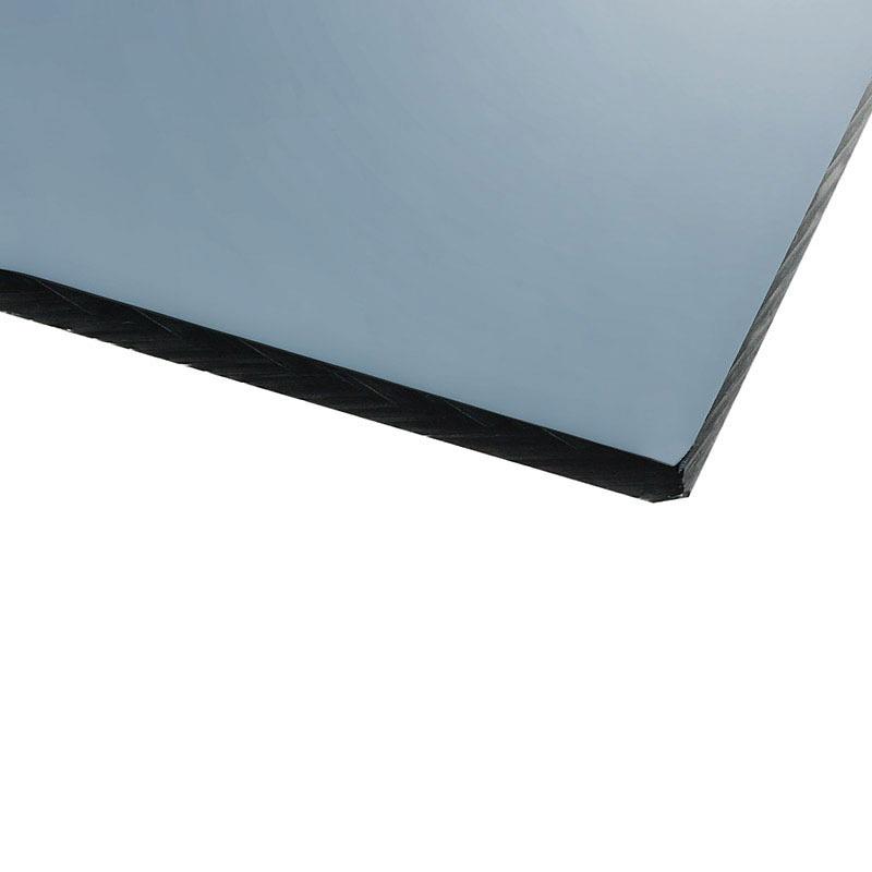 Panneau plexiglas transparent gris 500 x 500 mm for Fenetre plexiglass