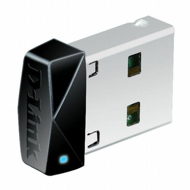 Carte réseau D-Link DWA-121 D-Link DWA-121 - Pico Clé USB WiFi N 150 Mbps