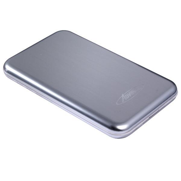 """Boîtier disque dur Advance Harmony BX-201U3SL Advance Harmony BX-201U3SL - Boitier pour disque dur 2""""1/2 SATA sur port USB 3.0 - Argent"""