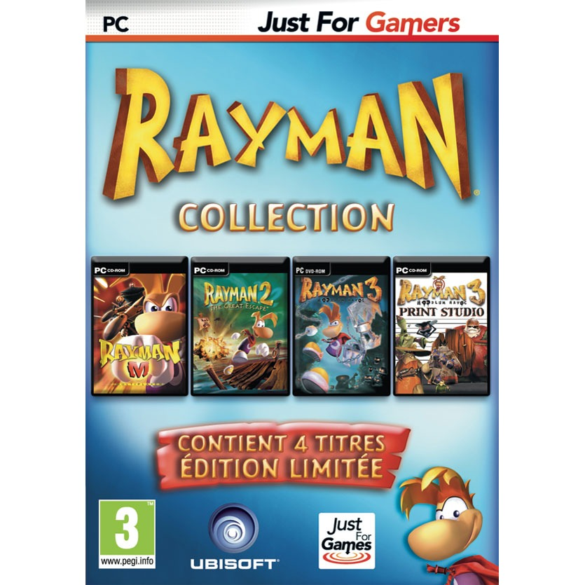 rayman collection pack anniversaire 10 ans pc jeux pc ubisoft sur ldlc. Black Bedroom Furniture Sets. Home Design Ideas