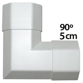angle pour goulotte cache c ble 5 cm coloris blanc n a achat vente passe c ble sur. Black Bedroom Furniture Sets. Home Design Ideas