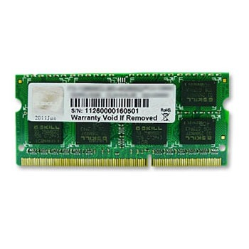 Mémoire PC portable G.Skill for Mac 4 Go DDR3 1600 MHz CL11 SODIMM 204 pins PC3-12800 - FA-1600C11S-4GSQ (garantie 10 ans par G.Skill)