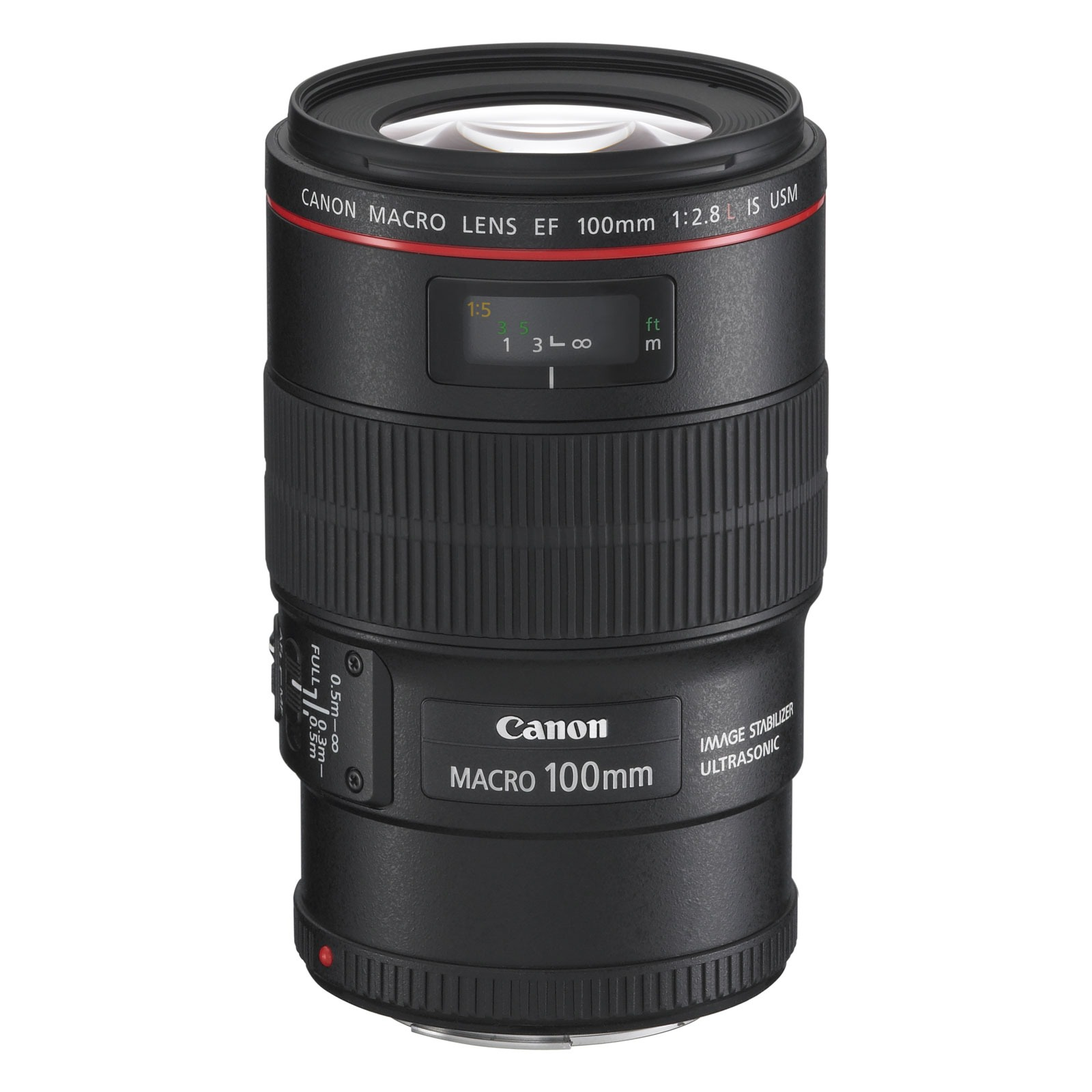 Objectif appareil photo Canon EF 100 mm f/2,8L IS USM Objectif macro