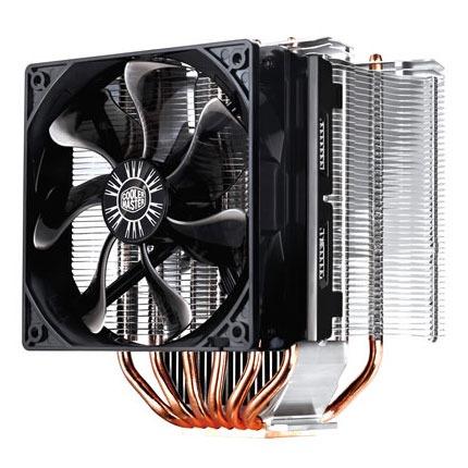 Ventilateur processeur Cooler Master Hyper 612S Ventilateur pour processeur (pour socket Intel 775 / 1150/1151/1155 / 1156 / 1366 et AMD AM2 / AMD 2+ / AM3)