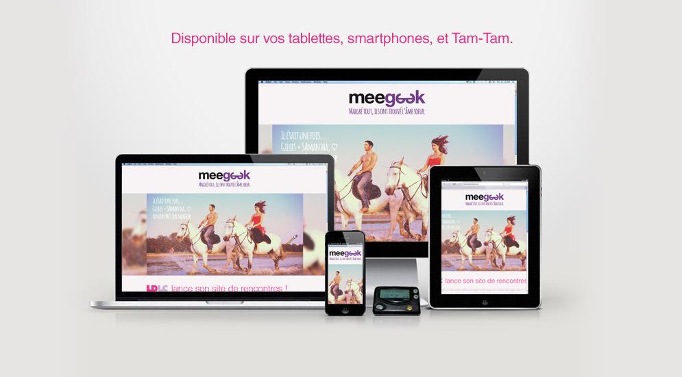 Disponible sur vos tablettes, smartphones, et Tam-Tam