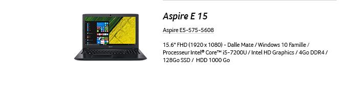 Aspire E15