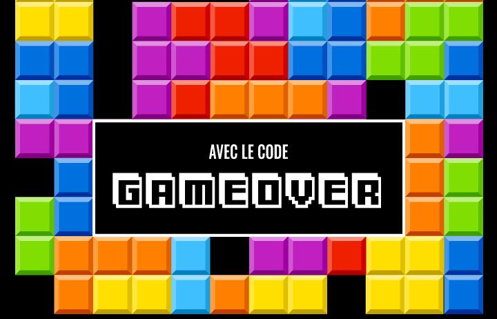 avec le code GAMEOVER >
