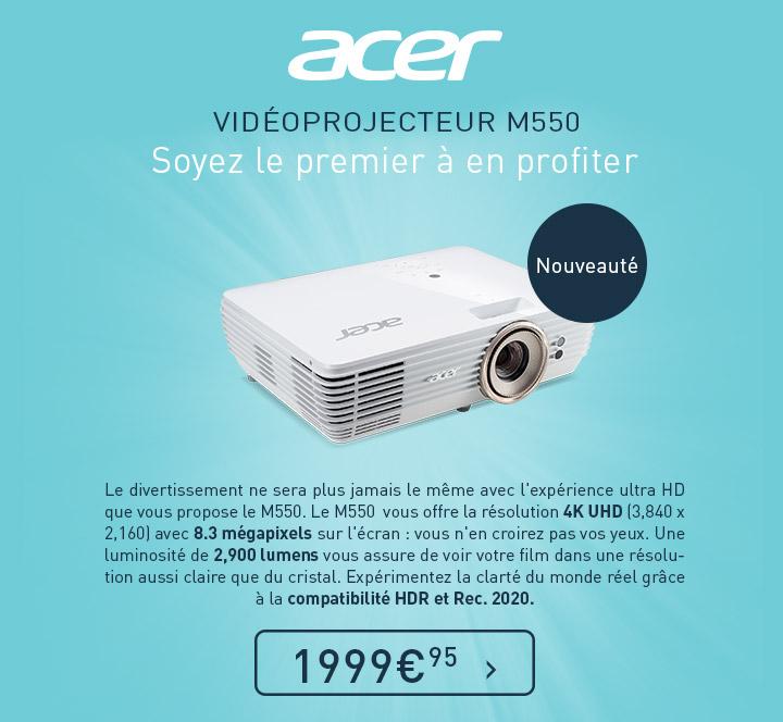 Projecteur M550