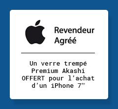 APPLE - Un verre trempé Premium Akashi OFFERT pour l'achat d'un iPhone 7**