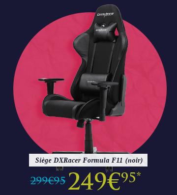 Siège DXRacer Formula F11 (noir)