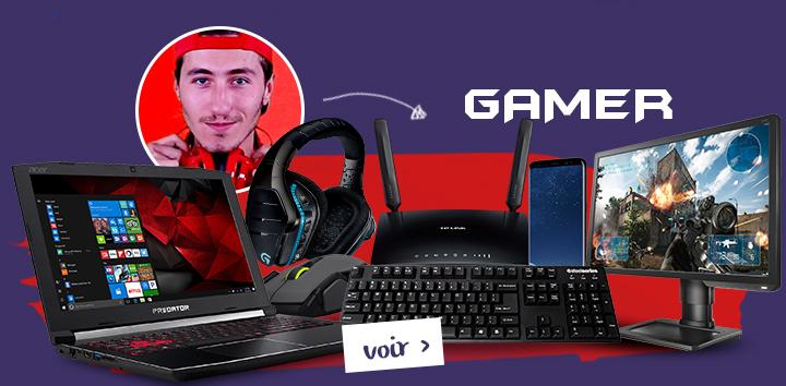 Power pack gamer ! Voir >