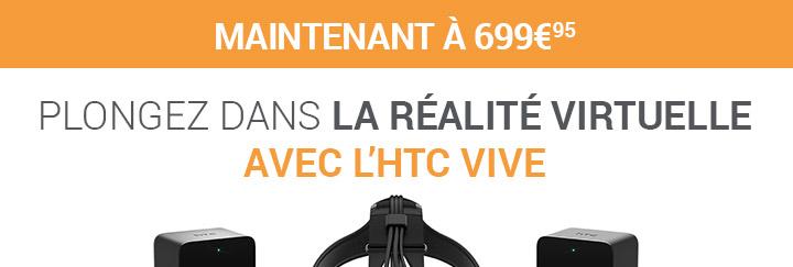 Plongez dans la Réalité virtuelle avec l'htc vive