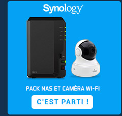 Pack nas & caméras Wi-Fi