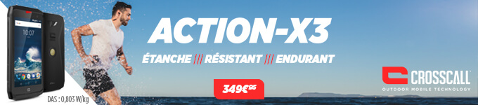 Crosscall / Acion-x3 à 349€95
