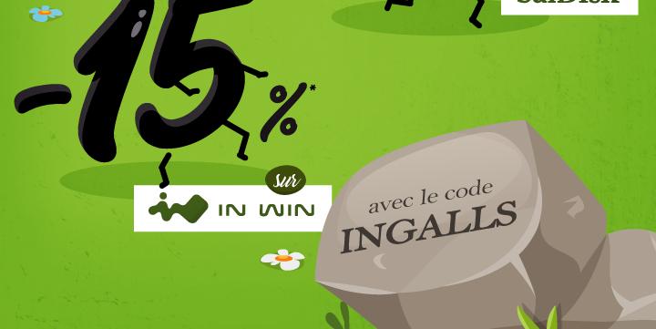 -15%* sur la marque In Win avec le code INGALLS