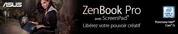 ASUS ZenBook Pro avec ScreenPad - Libérez votre pouvoir créatif