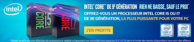 Intel | Intel Core 9eme Génération - Baisse de prix ! J'en profite >