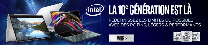 Intel | La 10e génération est là | Voir ?