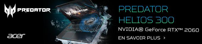 ACER   Découvrez le PC portable Predator HELIOS 300 >