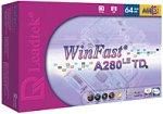 Achat Carte graphique Leadtek WinFast A280 LE TD 64 Mo
