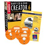 Achat Logiciel gravure Roxio Easy CD & DVD Creator 6 Digital Media Suite (français, WINDOWS)