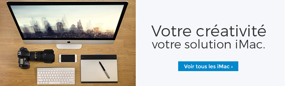 Votre créativité votre iMac