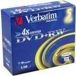 DVD Verbatim Type de média DVD+RW