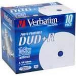 DVD Verbatim Type de média DVD+R