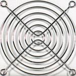 Grille ventilateur PC Générique Couleur Argent