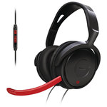 Micro-casque gamer Couleur Rouge