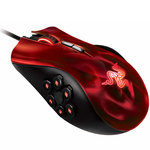 Souris gamer Couleur Rouge